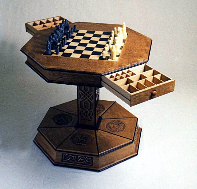 Chess Table – Roger Michael Fine Furniture